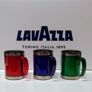 Lavazza termo skodelica v treh barvah